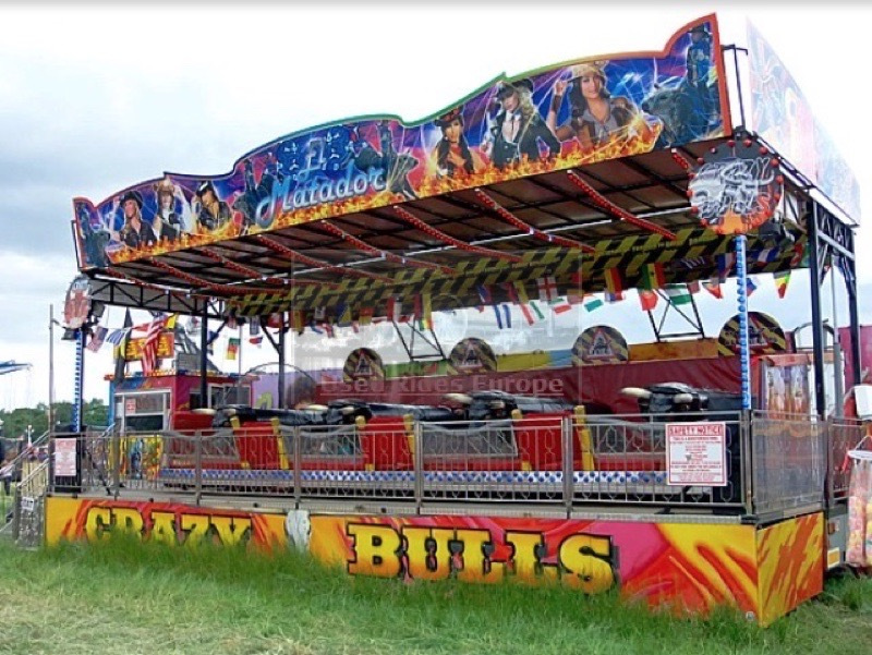 Used ride Crazy Bulls (Parma Rides)