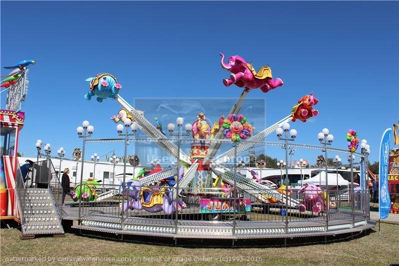 Used ride Flying Elephants (Kolmax)
