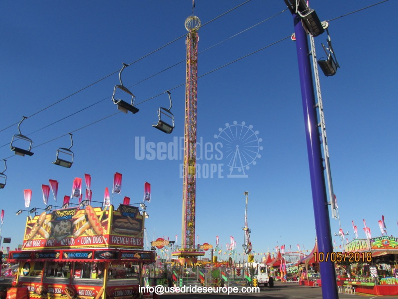 Used ride Mega Drop (Fabbri)