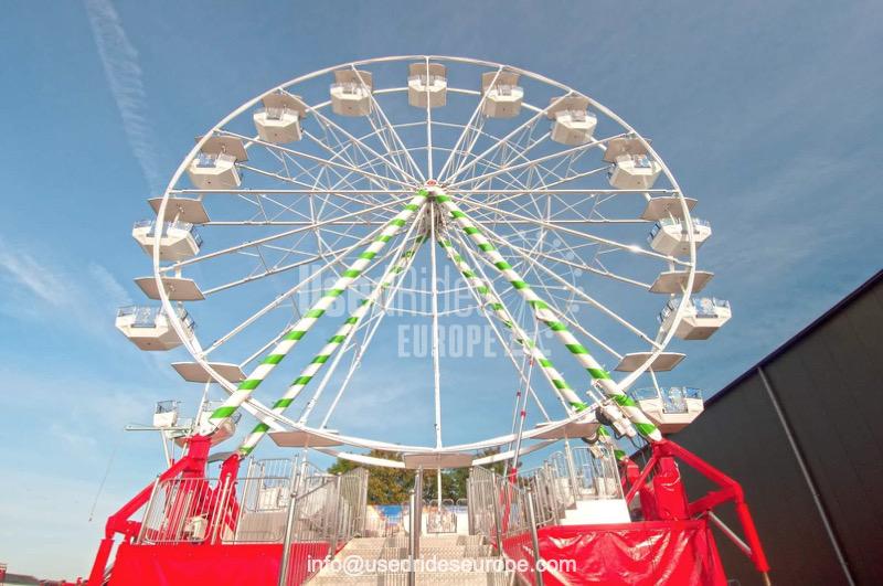 Used ride Ferris Wheel 22m. (Lamberink)